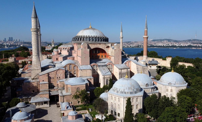 Ayasofya in Istanbul.  Beeld Reuters