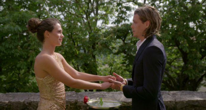 Tony en Julia in The Bachelor.