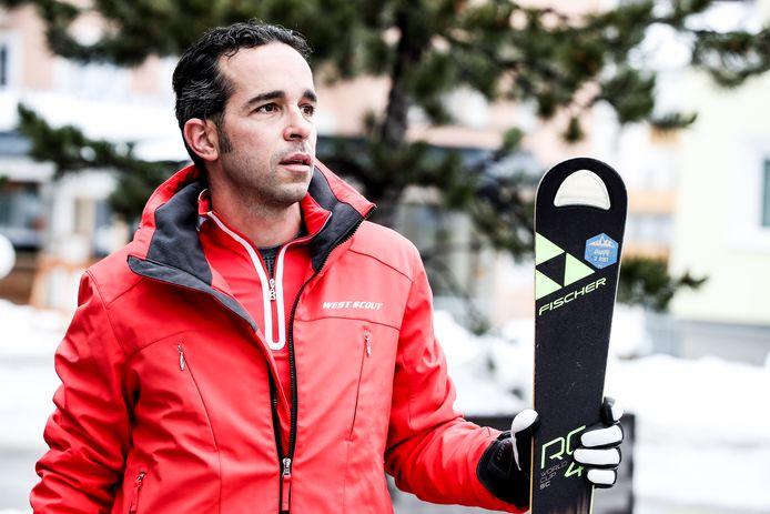 Dimitri Ramondino (39) is op dit moment aan het skiën in Tirol.