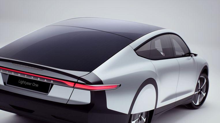 """""""De grote uitdaging was om efficiëntie met schoonheid te combineren"""", vertelde Belgisch designer Lowie Vermeersch. Beeld RV Lightyear One"""