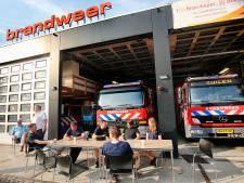 112 uit de lucht betekent voor de vrijwillige brandweerlieden van post Zuilen dat de pieper gaat