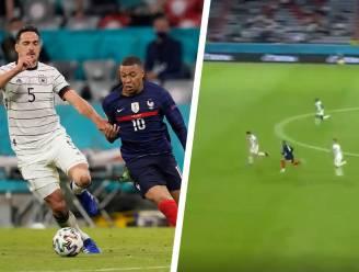 Nu al de inspanning van het EK: fabelachtige sprint van Franse ster Mbappé gaat de wereld rond