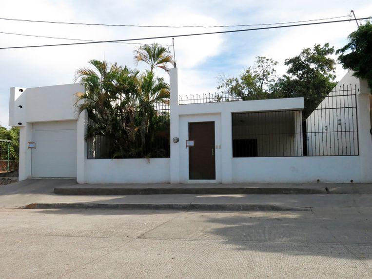 Het huis van Joauín Guzmán, alias 'El Chapo'. Beeld AP