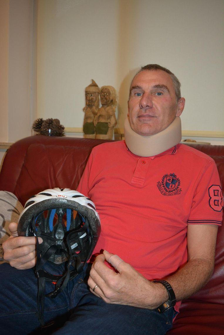 Marc Assez moest een jaar herstellen van zijn gebroken nekwervels.