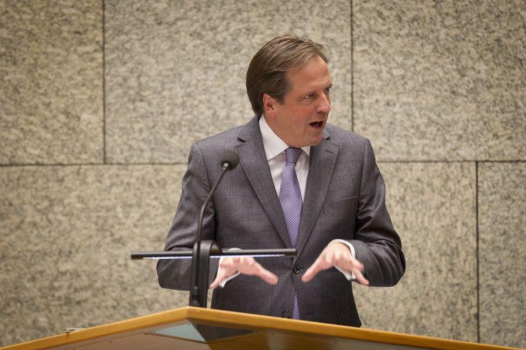 D66-leider Alexander Pechtold Beeld null