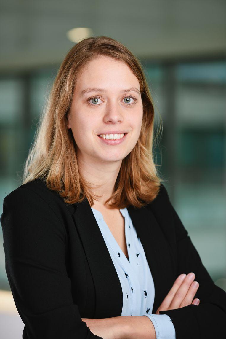 Jeanine de Roy van Zuijdewijn, universitair docent aan de Universiteit Leiden. Beeld Arash Nikkhah