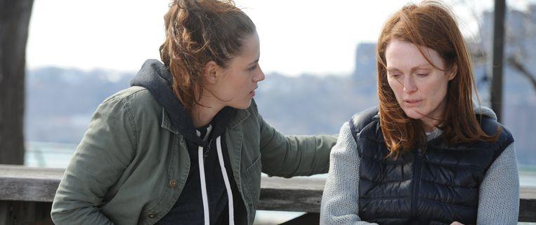 Een beeld uit 'Still Alice', waarin Julianne Moore de rol van een succesvolle psychologe met jongdementie speelt. Beeld rv