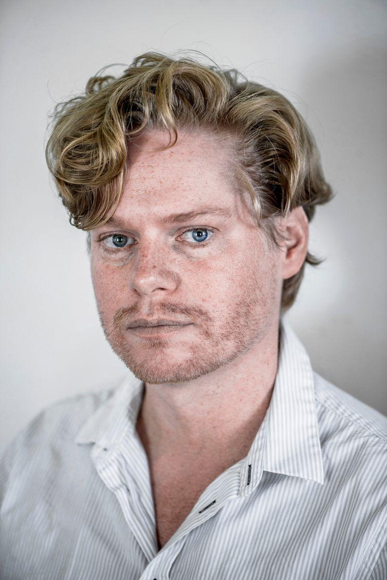 Tom Zwitser is filosoof en vormgever en heeft uitgeverij De Blauwe Tijger. Beeld Hollandse Hoogte / Corné Sparidaens