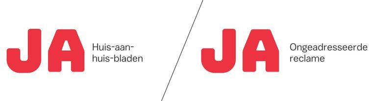 De ja/ja-sticker van de gemeente Beeld Laura van der Bijl