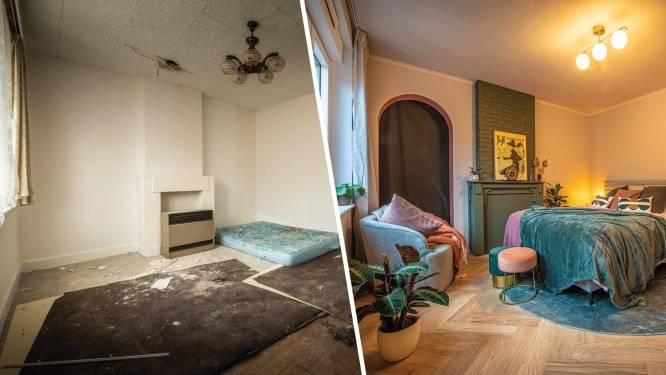 IN BEELD. Deelnemers van 'Huis Gemaakt' nemen woonkamer onder handen