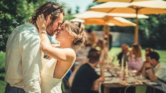 Zo zag het sprookjeshuwelijk van Frances Lefebure en Boris Van Severen eruit