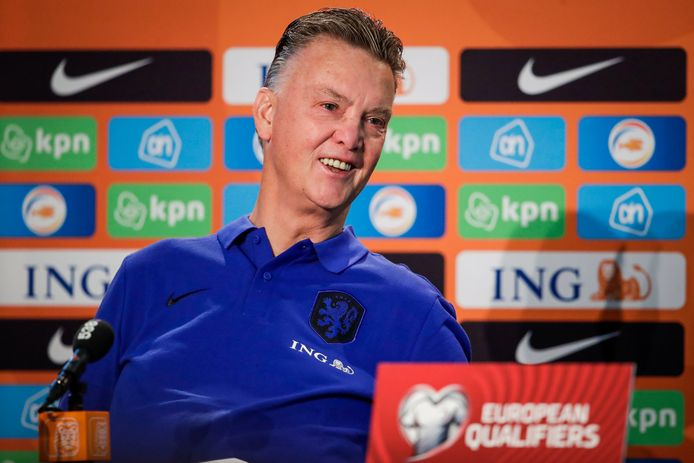 KNVB CAMPUS, NETHERLANDS - SEPTEMBER 6: Coach Louis van Gaal of the Netherlands during a Press Conference of The Netherlands at Zeist on September 6, 2021 in KNVB Campus, Netherlands. (Photo by Broer van den Boom/Orange Pictures) © Orange Pictures / Photo News ! only BELGIUM !