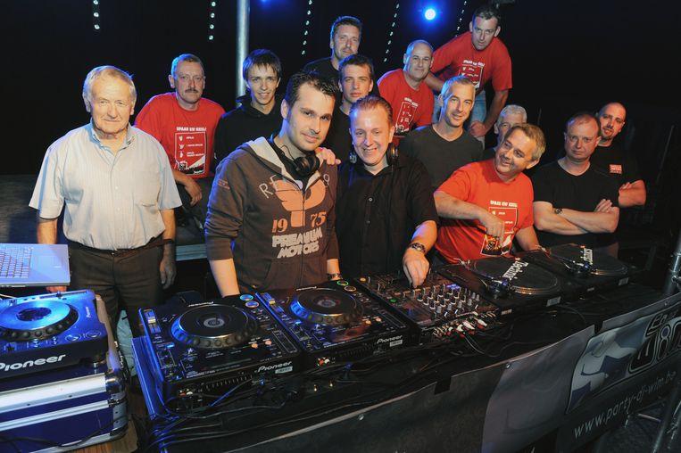 Archieffoto: DJ Wim die in 2009 de afterparty organiseert van de Beachparty in Bertem.