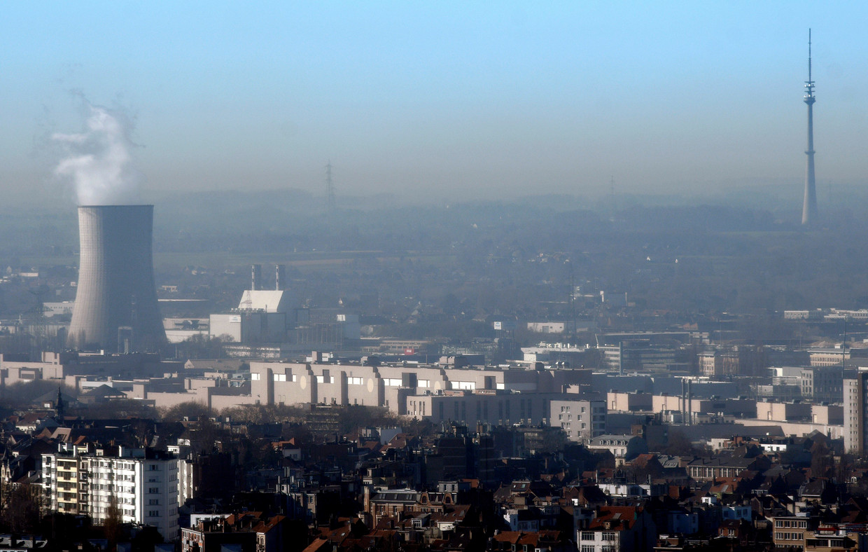 Luchtvervuiling in Brussel. Beeld Photo News