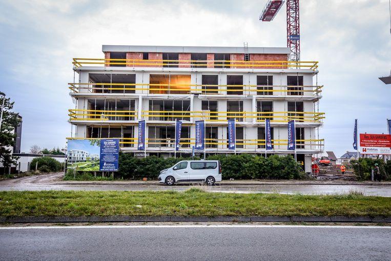 Er wordt in de Ringlaan momenteel al volop gewerkt aan een residentie.