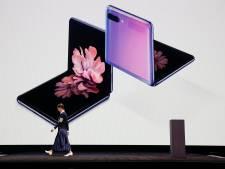 Samsung kondigt vouwbare klaptelefoon aan. Prijs: 1500 euro
