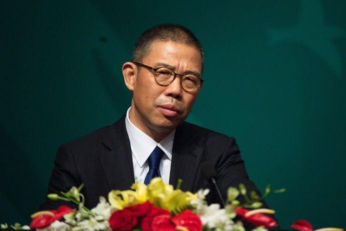 Zhong Shanshan.