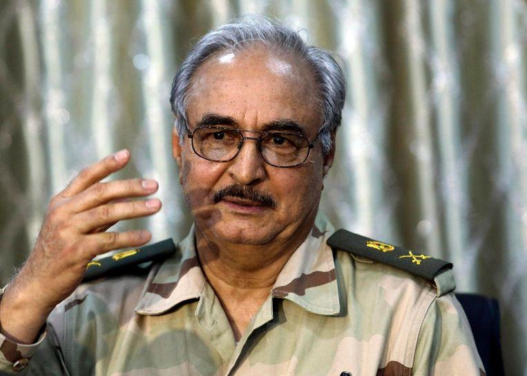Khalifa Haftar Beeld Reuters