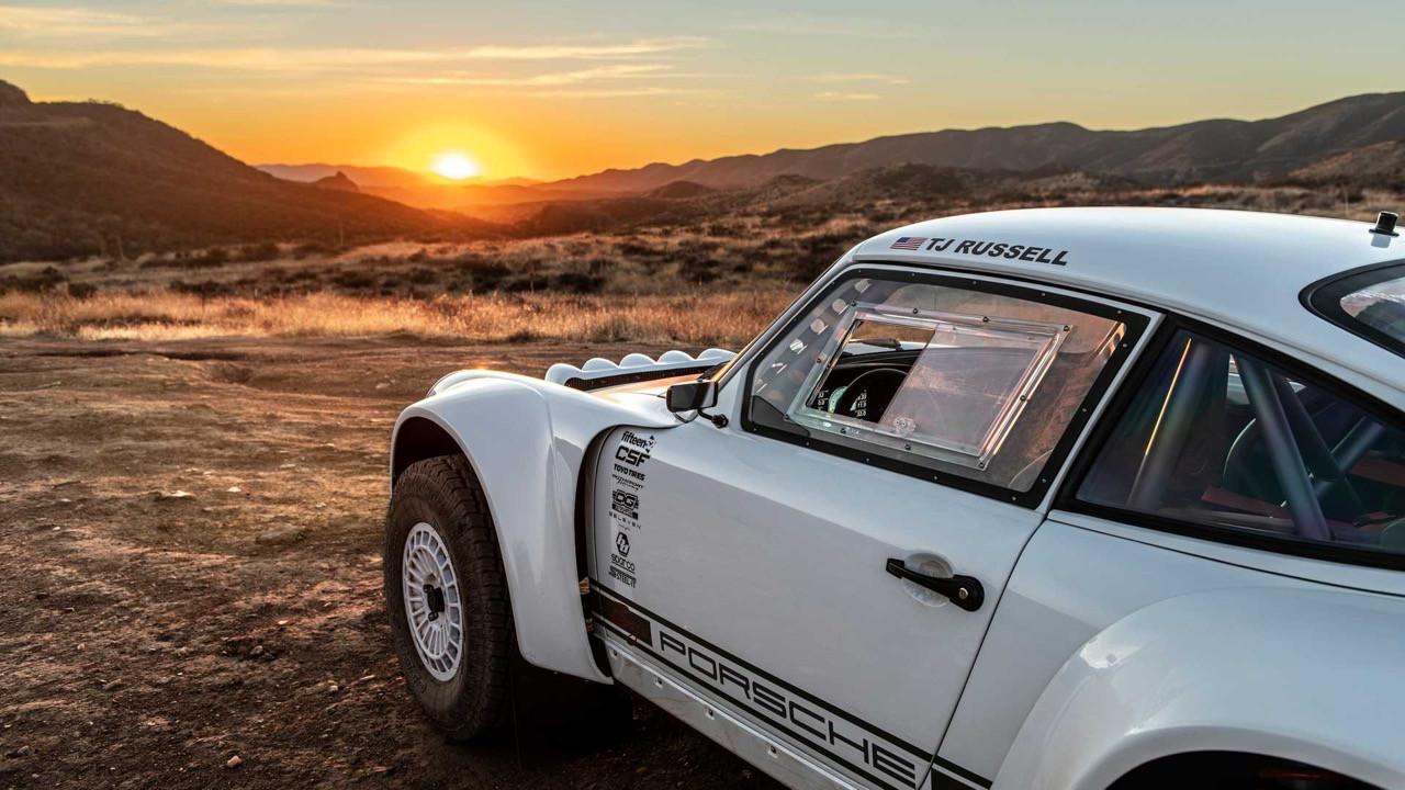 Porsche 911 Baja van Russell Built