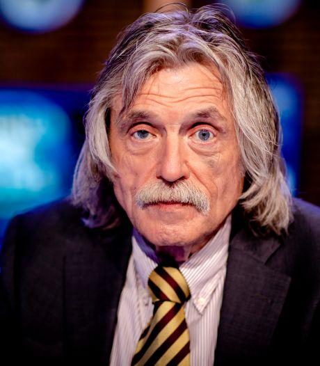 Comeback Johan Derksen trekt half miljoen kijkers: 'Slechts één fout gemaakt'