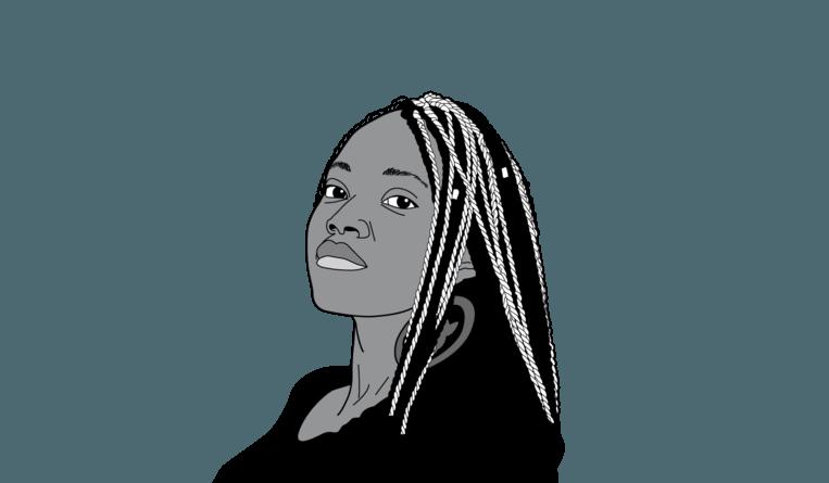 Sabrine Ingabire. Beeld DM