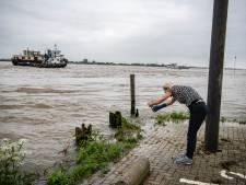Het water komt, maar geen sprake van paniek in Land van Maas en Waal
