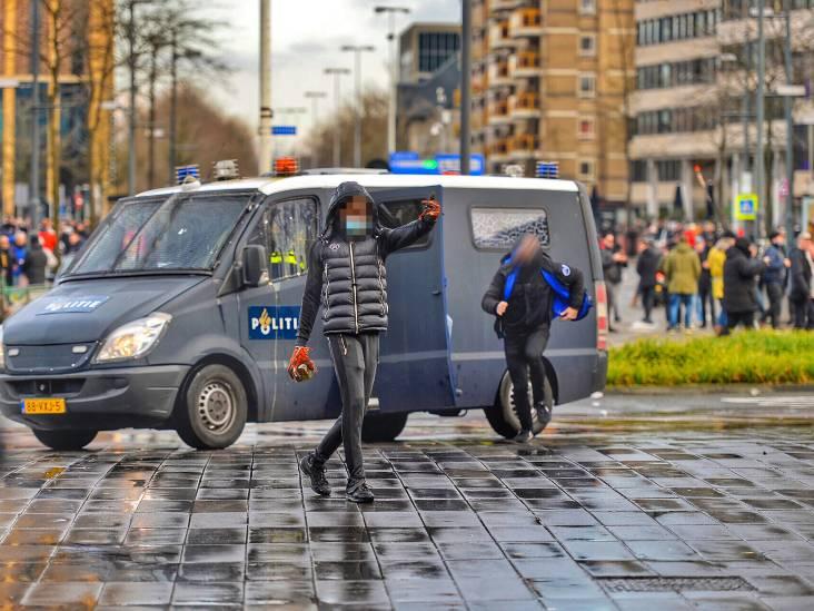 17-jarige relschopper meldt zich na beelden Bureau Brabant bij politie