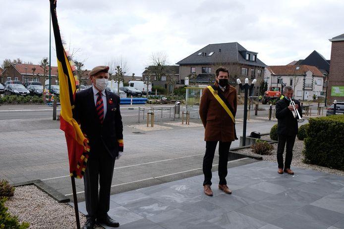 Veteranendag dit jaar in Evergem in beperkte kring.