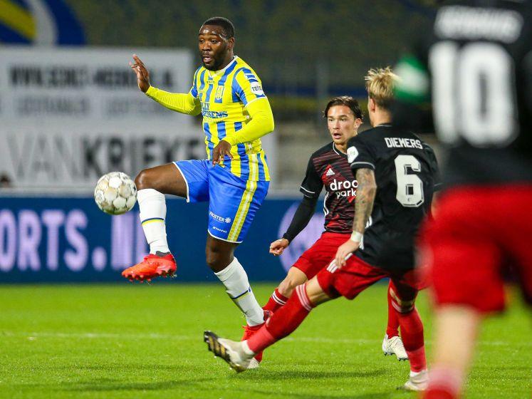 RKC-doelpuntenmaker Ola John: 'Je hoopt dat het de winnende is'
