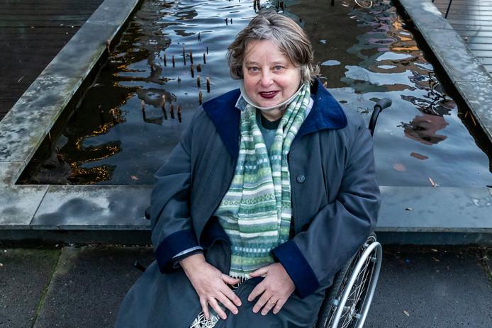 Sophie Hankes uit Utrecht wilde graag bij het koor zingen.