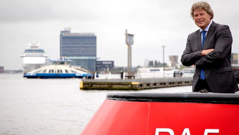 Havendirecteur Koen Overtoom Beeld anp