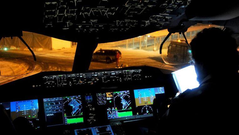Een cockpit Beeld anp