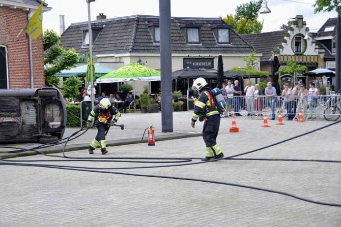 Brandweerwedstrijden in Diepenheim.