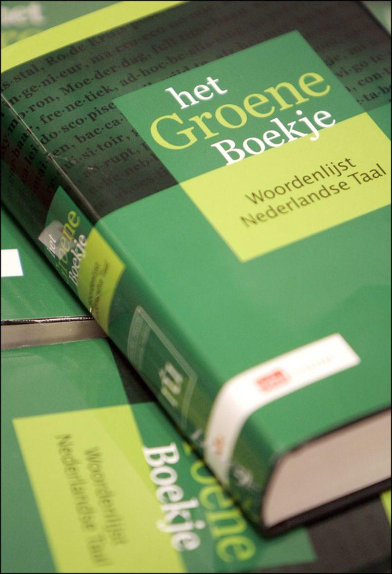 De laatste editie van het Groene Boekje. Foto ANP Beeld