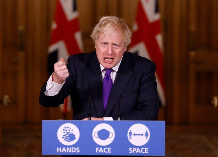 Premier Boris Johnson. Beeld AP
