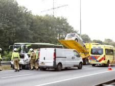 Ongeluk met drie auto's zorgt voor files rondom Cuijk
