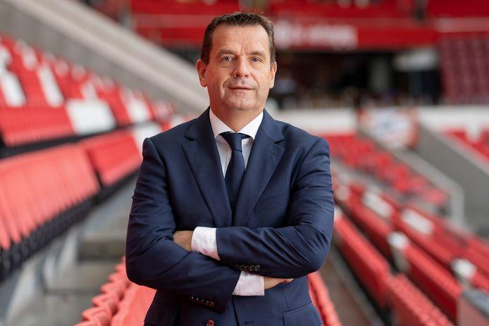 Commercieel directeur Frans Janssen van PSV.