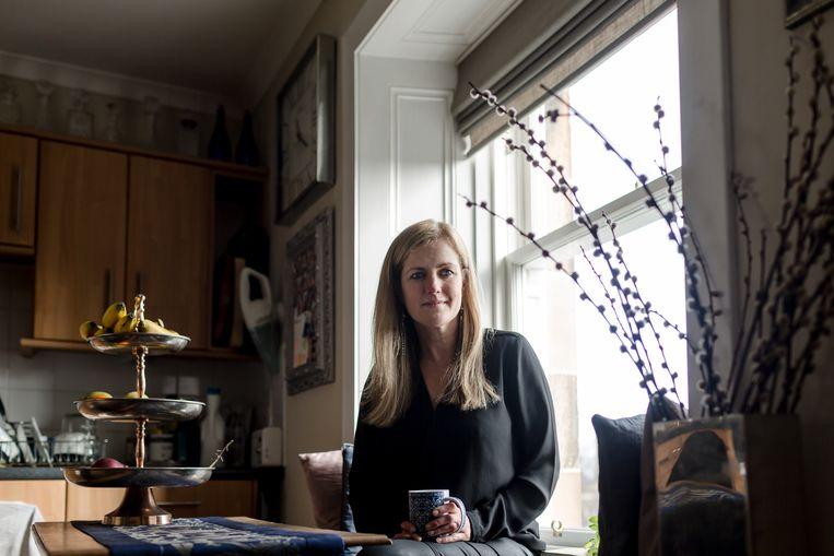 Katherine Trebeck: 'Laten we vooral naar geluk streven. Groeien moeten we alleen doen als het echt nodig is. Het mag geen doel op zich zijn.' Beeld Robert Ormerod