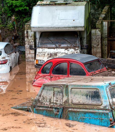 Coulées de boue, maisons inhabitables: Chaudfontaine touchée par d'impressionnantes des inondations