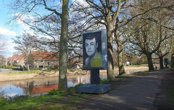Portretfoto's op het Noordbolwerk in Middelburg.