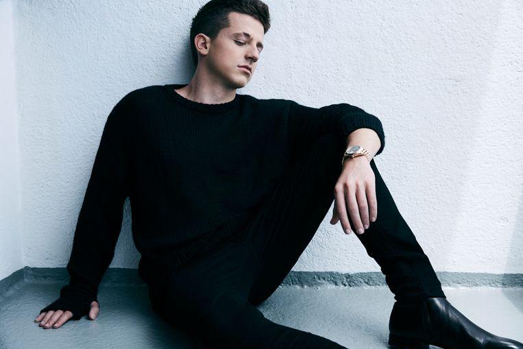 Zanger Charlie Puth: niet zomaar een epigoontje van de beide Justins, Bieber en Timberlake. Beeld Jimmy Fontaine