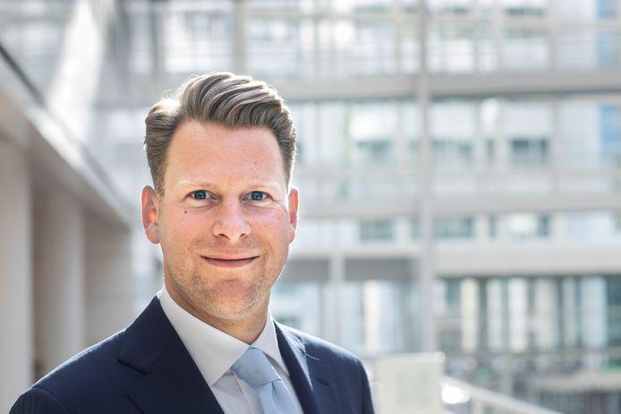 Ralf Sluijs, raadslid namens Groep de Mos.