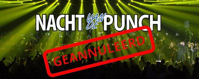 De Nacht van de Punch, traditioneel op de derde zaterdag van september, wordt geannuleerd.