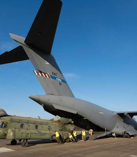 Laatste Chinook uit Mali geland op Gilze-Rijen