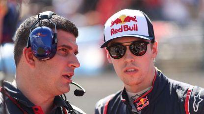 Kvyat komt niet meer in actie voor Toro Rosso