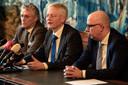 John Jorritsma, Theo Weterings en Jack Mikkers (vlnr).