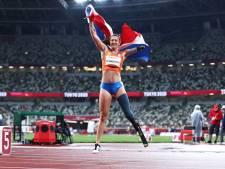 Marlène van Gansewinkel sprint naar goud op 100 meter bij Paralympische Spelen