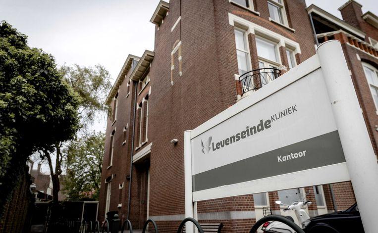 Kantoor van de Levenseindekliniek in Den Haag. Beeld ANP