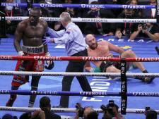 Deontay Wilder verbreekt stilte na knock-out en bedankt Tyson Fury