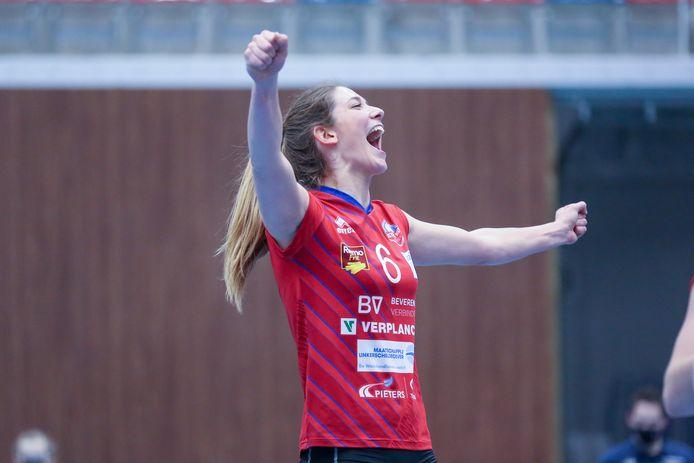 """Silke Van Avermaet: """"In Mulhouse waren al drie Belgische volleybalsters actief."""""""